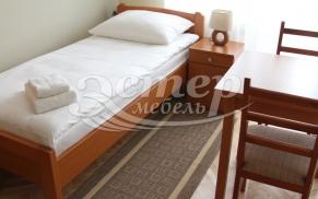 Мебель для гостиниц: выбираем полутораспальную кровать