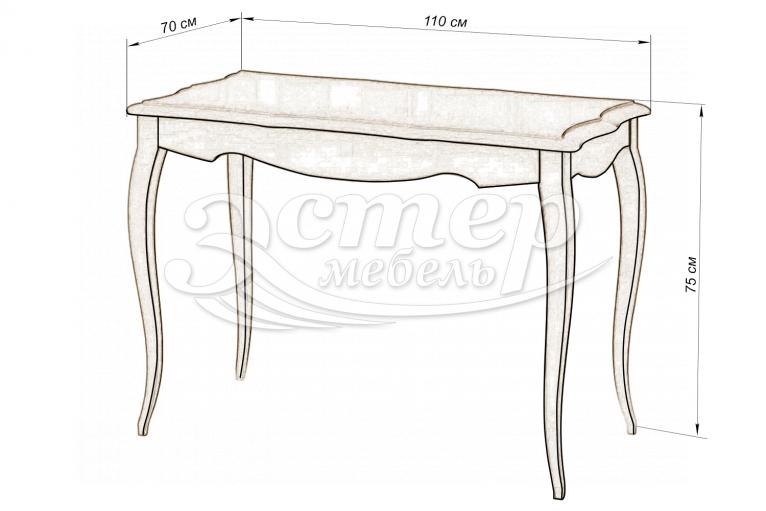 Кухонный стол Прованс из массива березы