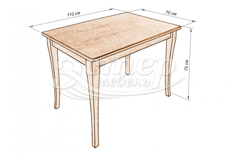 Кухонный стол Калле из массива березы