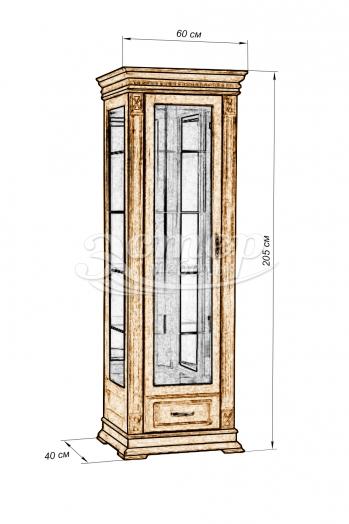 Шкаф Флоренция-4 из массива дуба