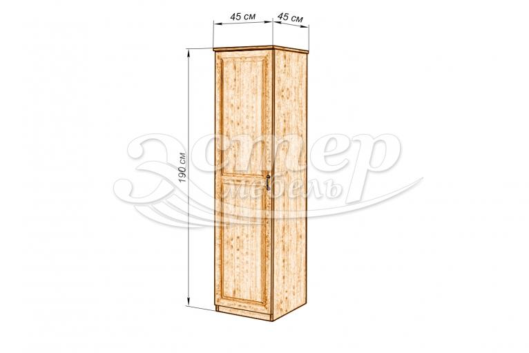 Шкаф ECO-1 из массива сосны