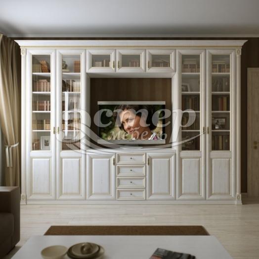 Шкаф с нишей под ТВ из серии