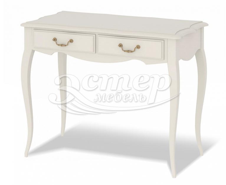 Дамский столик Прованс из массива бука