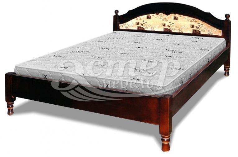 Кровать-тахта Лорето с материалом из массива бука