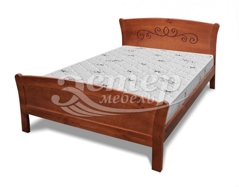 Кровать Мадисон из массива дуба