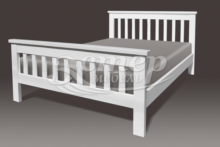 Кровать Беллона из массива дуба