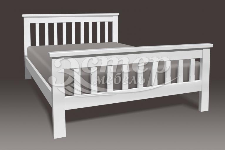 Кровать Беллона из массива сосны