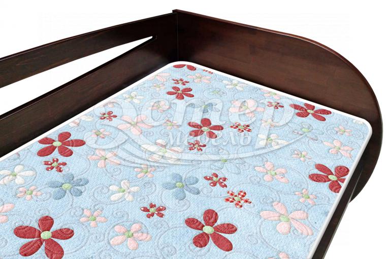 Кровать Альба детская из массива сосны