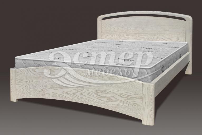 Кровать Альба Люкс из массива дуба