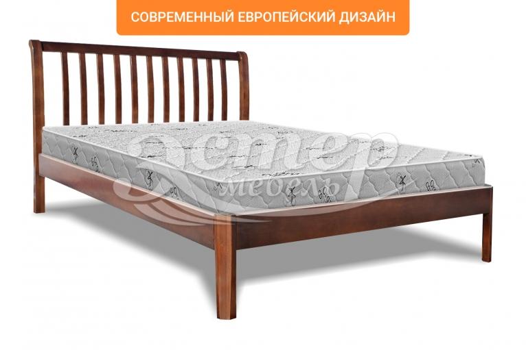 Кровать Летиция Люкс из массива сосны
