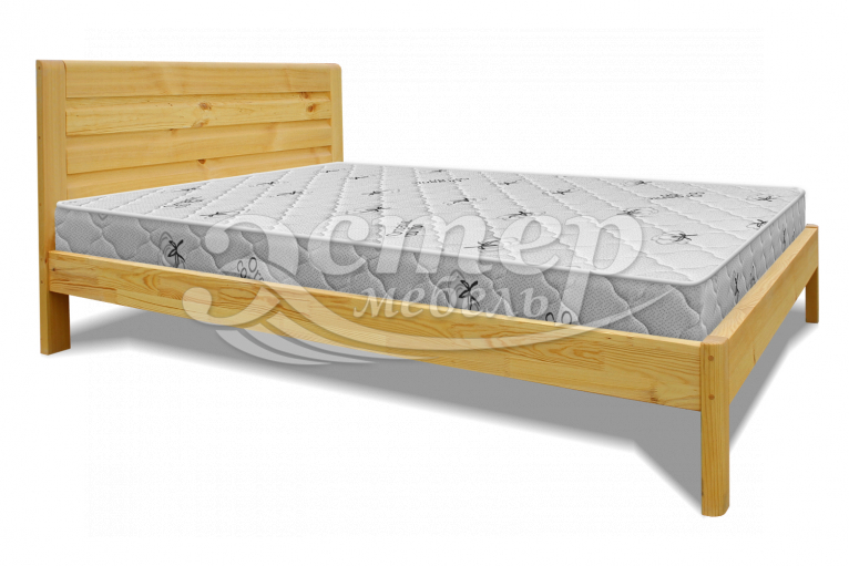 Кровать Бекер из массива дуба