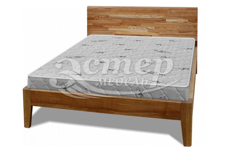 Кровать Лоренцо из массива дуба