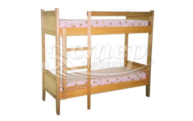 Кровать двухъярусная Колорадо 3 из массива сосны