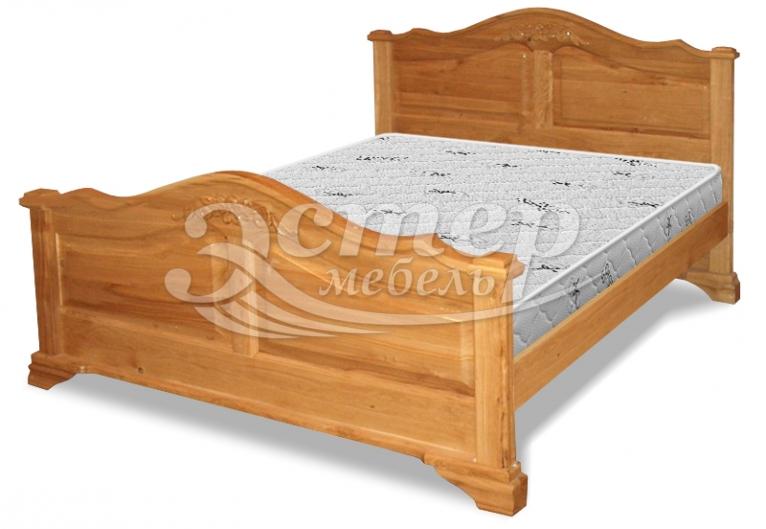 Кровать Ривер из массива дуба
