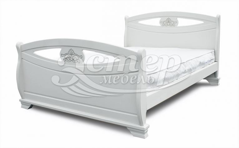 Кровать Аверса из массива сосны