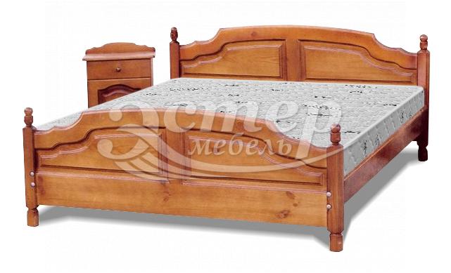 Кровать Филенка Колорадо из массива сосны