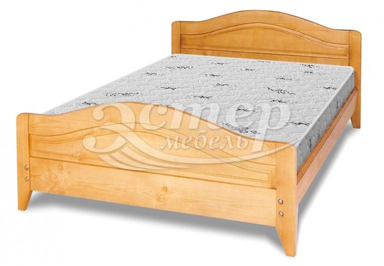 Кровать Лорето новинка №1 из массива сосны