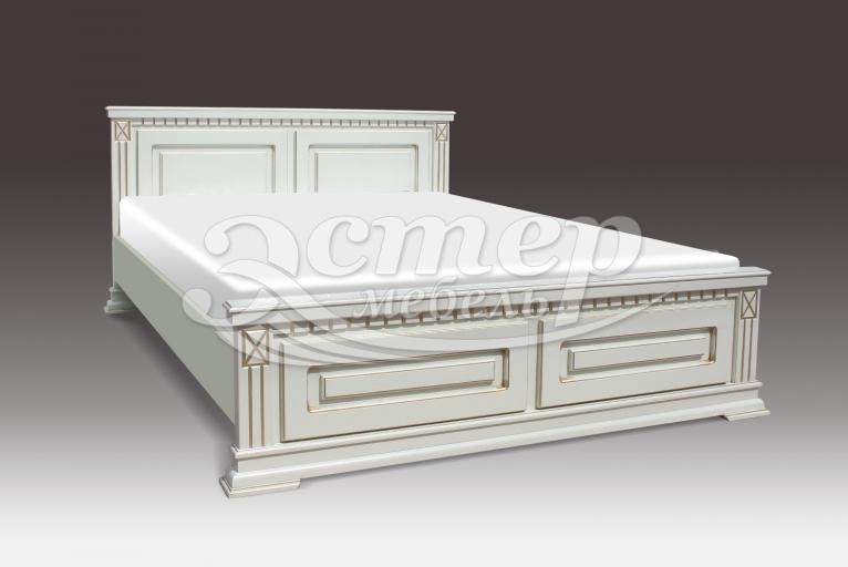 Кровать Верди из массива сосны