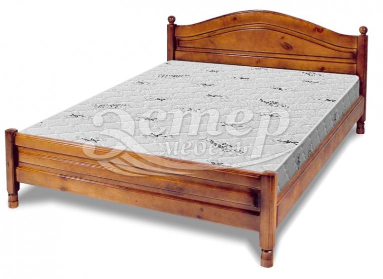 Кровать Рино филенчатая из массива дуба