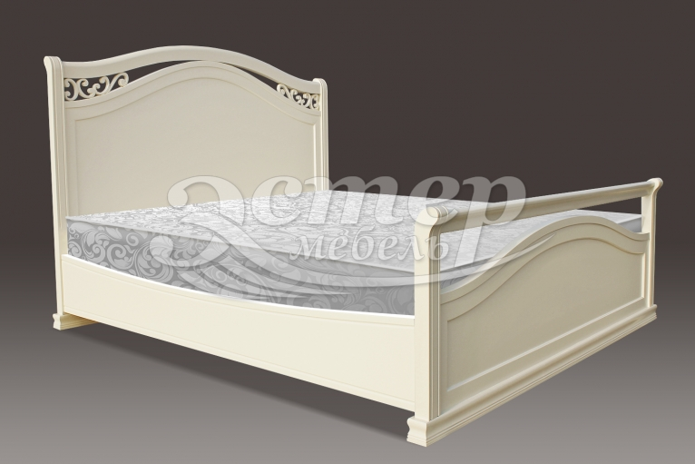 Кровать Грация из массива дуба