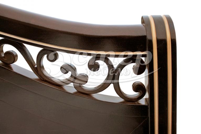 Кровать Грация-тахта из массива сосны