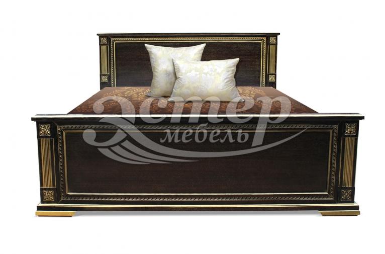 Кровать Риволи из массива бука
