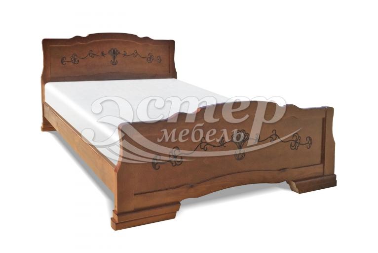 Кровать Каролина-2 из массива сосны