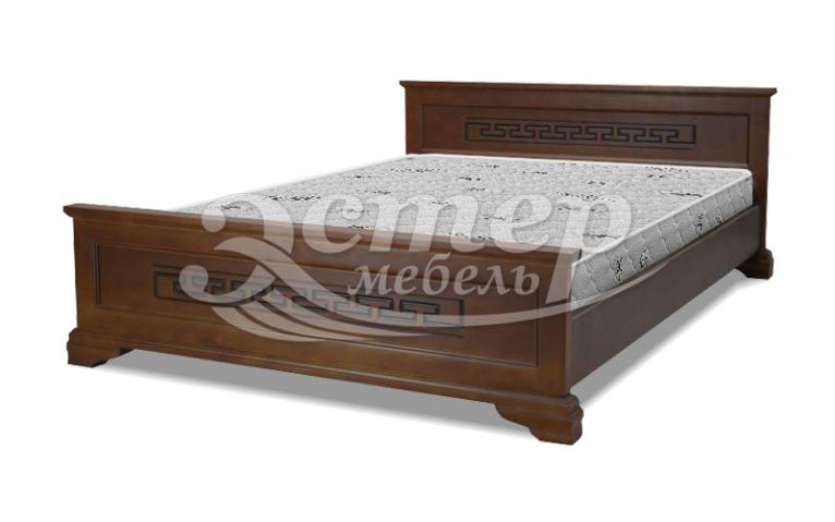 Кровать Колорадо из массива дуба