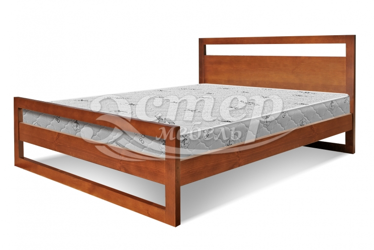 Кровать Калгари из массива сосны