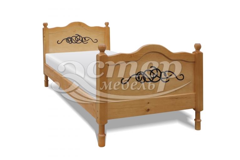 Кровать Юкон из массива бука