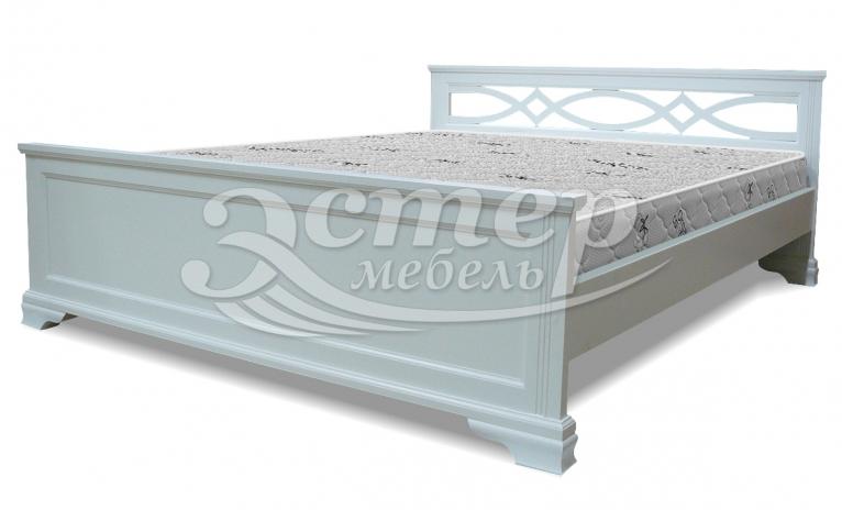 Кровать Прага из массива дуба