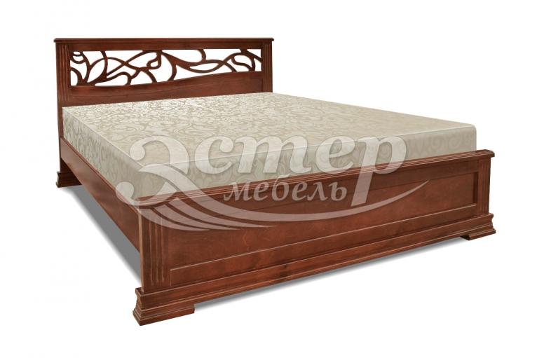 Кровать Квебек из массива бука