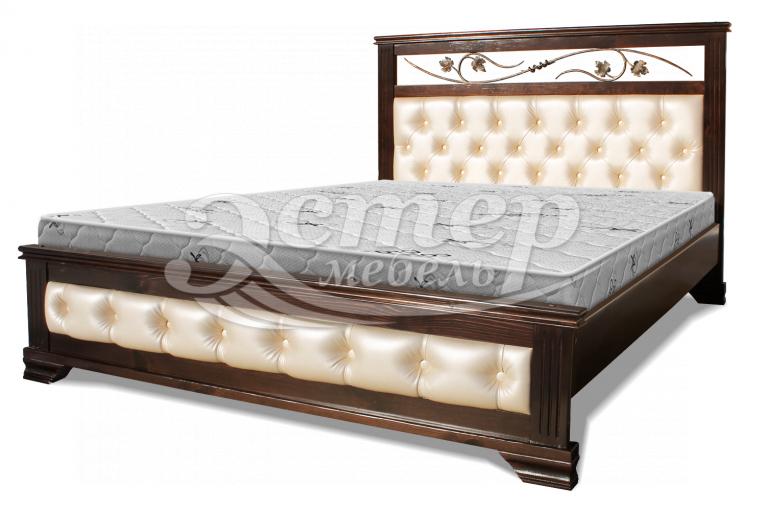 Кровать Листаль из массива бука