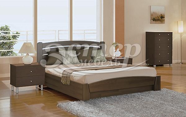 Кровать Мурсия из массива сосны