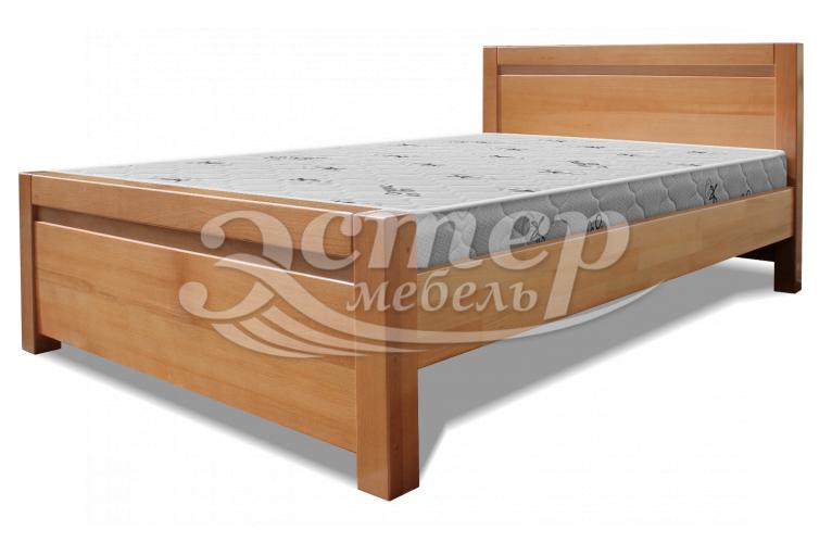 Кровать Алан из массива дуба