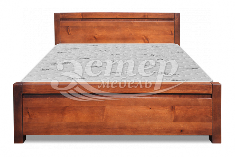 Кровать Алан из массива бука