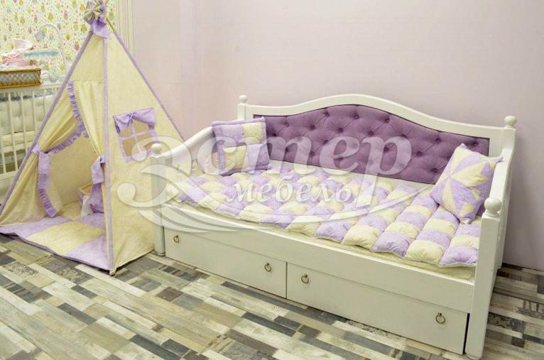 Кровать Милано детская из массива сосны