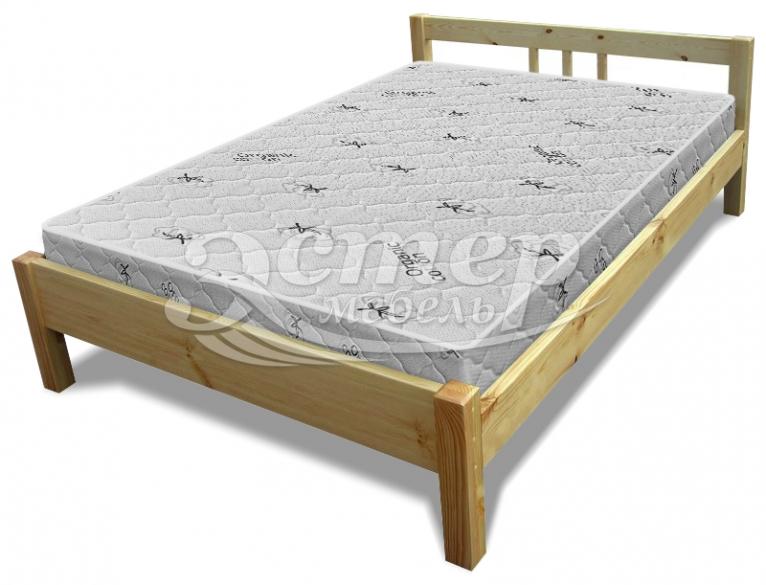 Кровать Джерси из массива березы