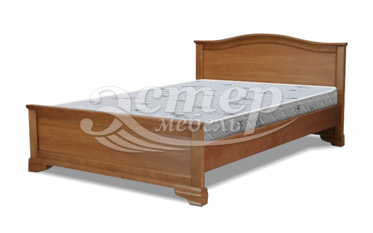 Кровать Вена из массива бука