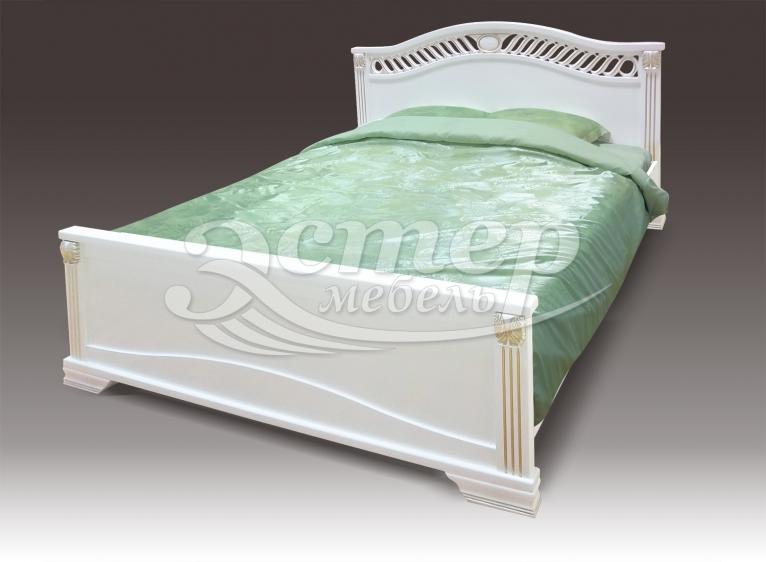 Кровать Флавия из массива бука