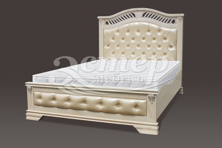 Кровать Флавия Люкс из массива сосны