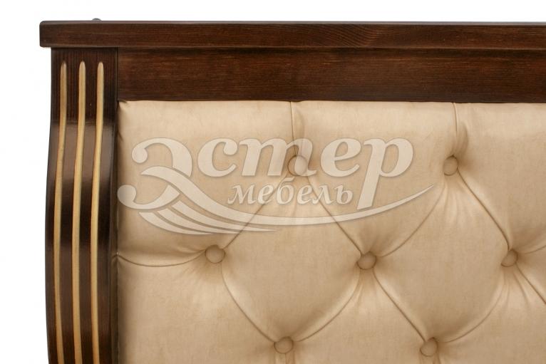 Кровать Петергоф из массива бука