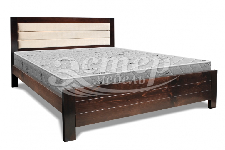 Кровать Парма из массива дуба