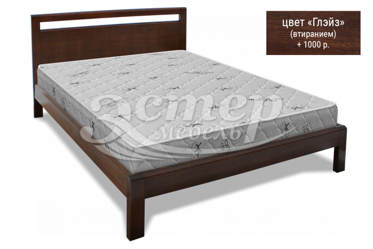 Кровать Арланса из массива березы