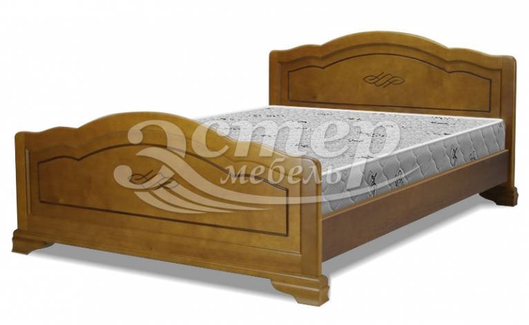 Кровать Севилья из массива дуба