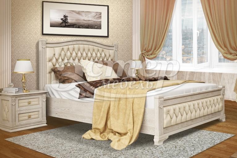Кровать Соната из массива бука