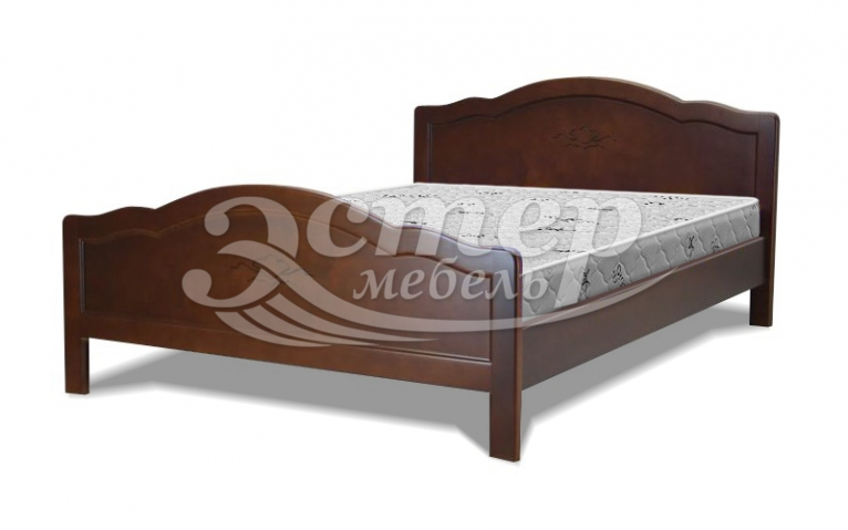 Кровать Королла из массива дуба