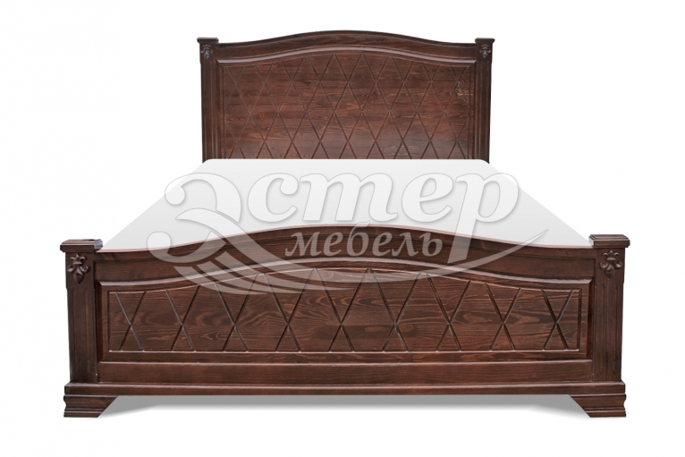 Кровать Ливадия из массива сосны
