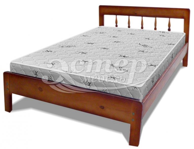 Кровать Монтана из массива сосны