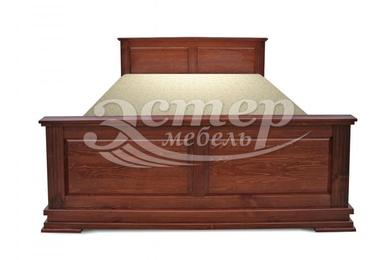Кровать Лирона из массива сосны